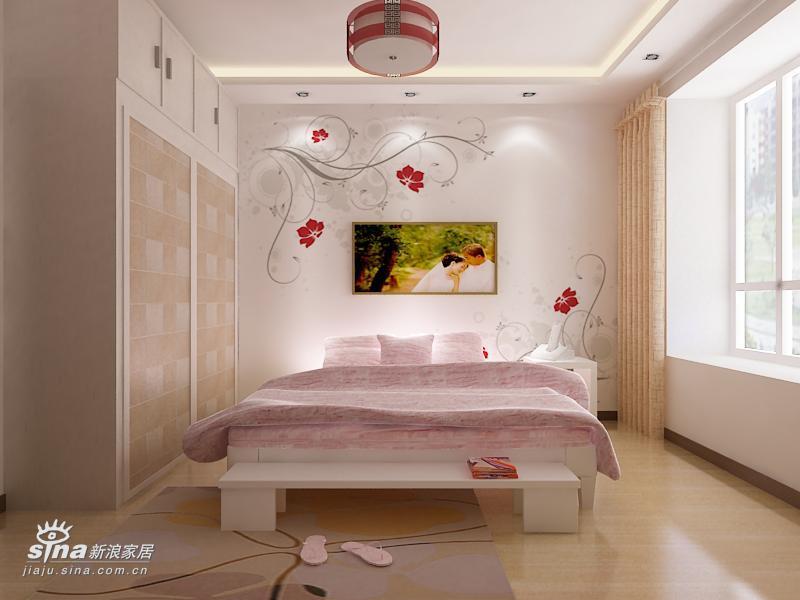 简约 二居 卧室图片来自用户2739378857在银亿阳光城65的分享