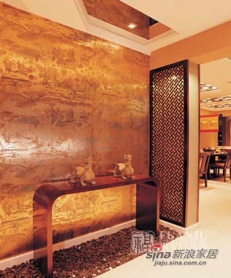 中式 二居 玄关图片来自用户1907658205在富丽堂皇两居中式风格87的分享