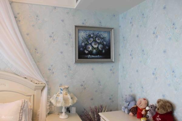 儿童房----墙纸和画的搭配