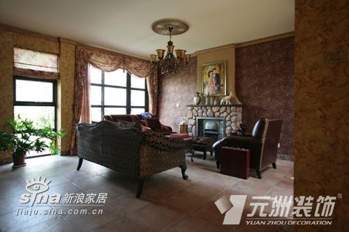 欧式 别墅 客厅图片来自用户2746948411在原生墅94的分享