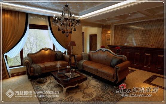 欧式 四居 客厅图片来自用户2557013183在150平欧式系列之古典的华贵气质61的分享