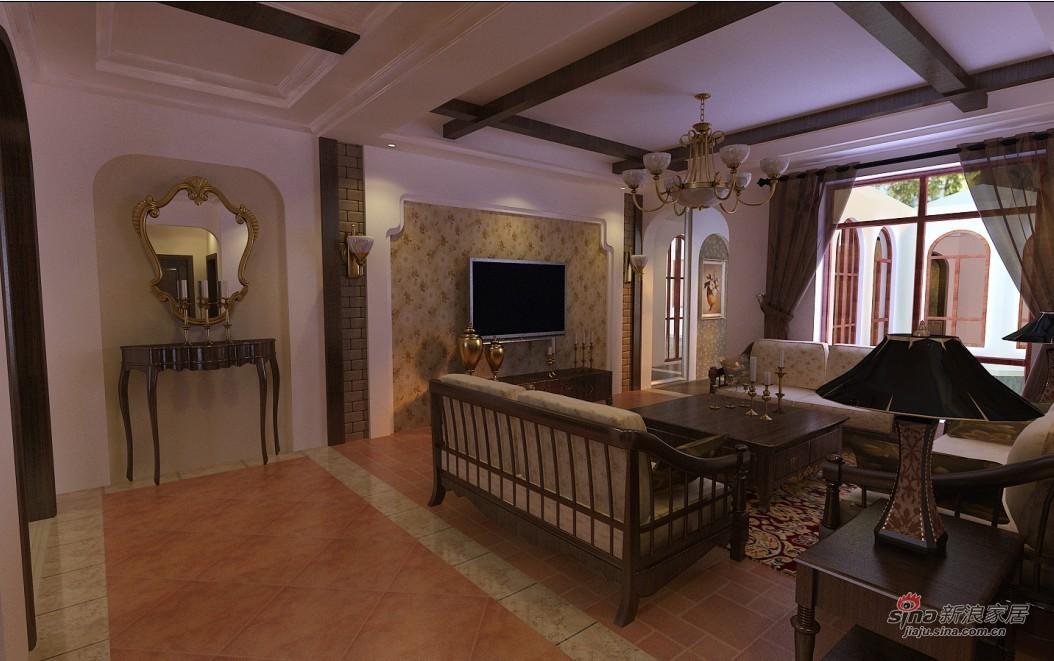 其他 别墅 客厅图片来自用户2737948467在国风上观美式田园高雅混搭18的分享