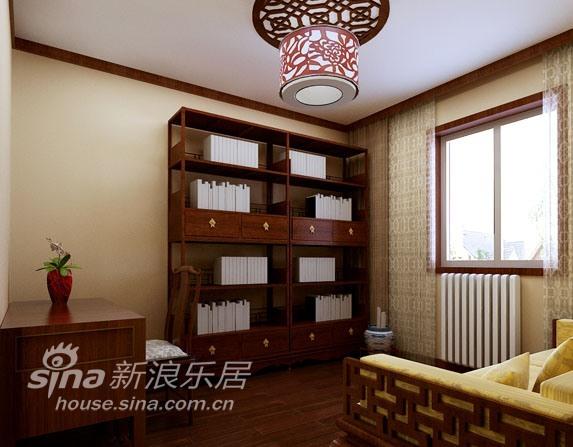 中式 二居 书房图片来自用户2748509701在中式风格混搭的简约新格局34的分享