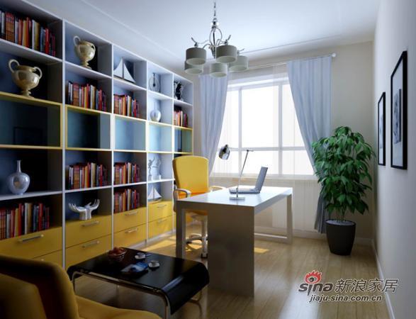 其他 三居 书房图片来自用户2557963305在水岸尚品47的分享
