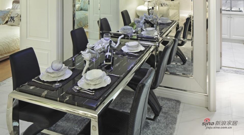 欧式 三居 餐厅图片来自用户2757317061在【高清】14万装118平简约欧式三房39的分享