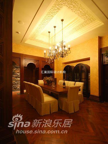 欧式 别墅 餐厅图片来自用户2557013183在古色古香美式乡村72的分享