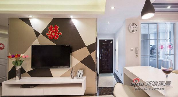 简约 三居 客厅图片来自用户2737782783在5.2万改造85平现代简约婚房13的分享
