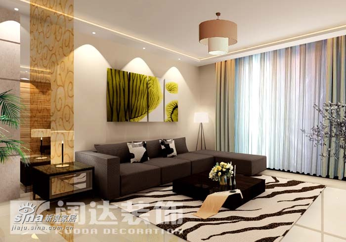 简约 一居 客厅图片来自用户2745807237在现代51的分享