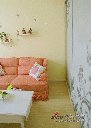 田园 一居 客厅图片来自用户2737946093在小资女3万装30平迷你田园旧屋91的分享