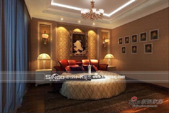 欧式 别墅 卧室图片来自用户2746869241在简约欧式奢华主义别墅53的分享