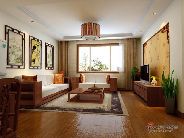 清河清景苑两居--客厅