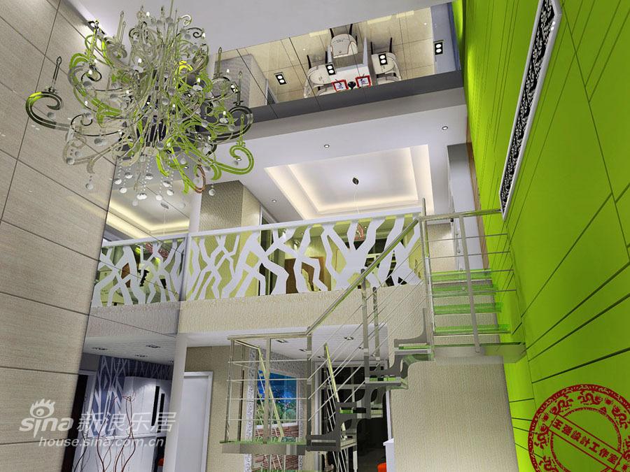 简约 复式 客厅图片来自用户2737786973在赤壁郡都复式楼24的分享