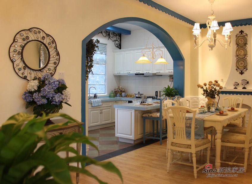 混搭 二居 餐厅图片来自用户1907689327在20万搞定豪华地中海混搭田园二居室42的分享