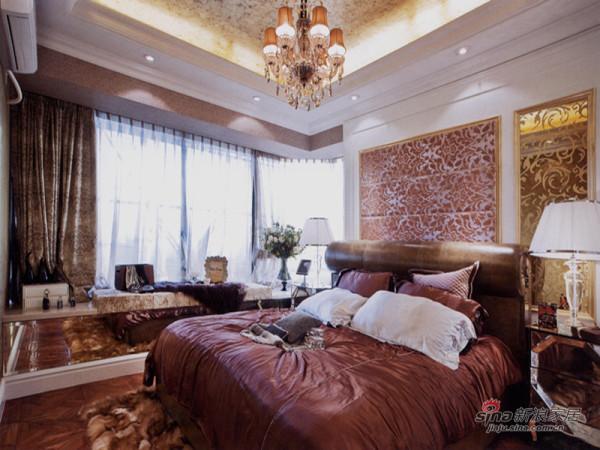 实创装饰美式卧室实景图