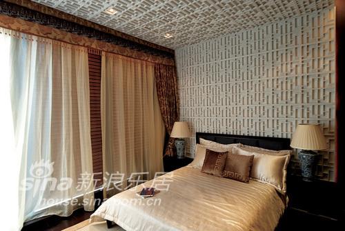 中式 别墅 卧室图片来自wulijuan_16在春亭装潢 新中式滨海御庭T1型别墅67的分享