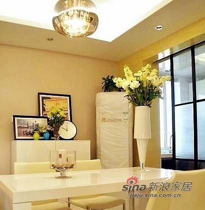 现代 二居 餐厅图片来自用户2375967697在白领85平装简约清幽小2居38的分享