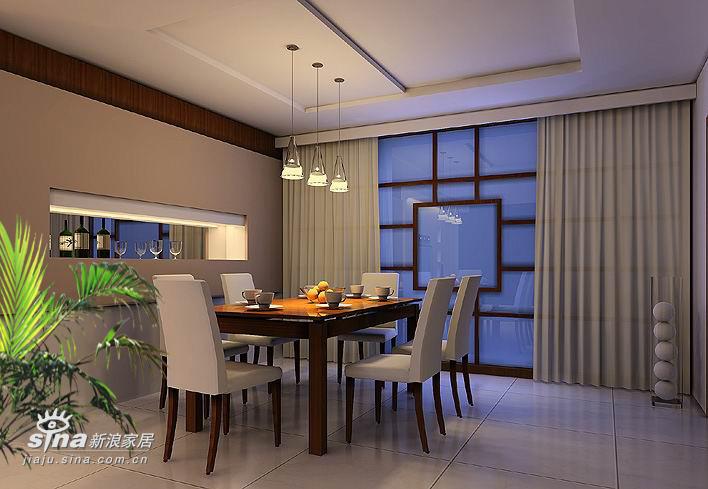 简约 二居 餐厅图片来自用户2559456651在两室两厅107平 现代简约54的分享
