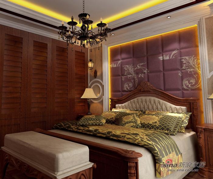美式 四居 卧室图片来自用户1907686233在我的专辑595884的分享