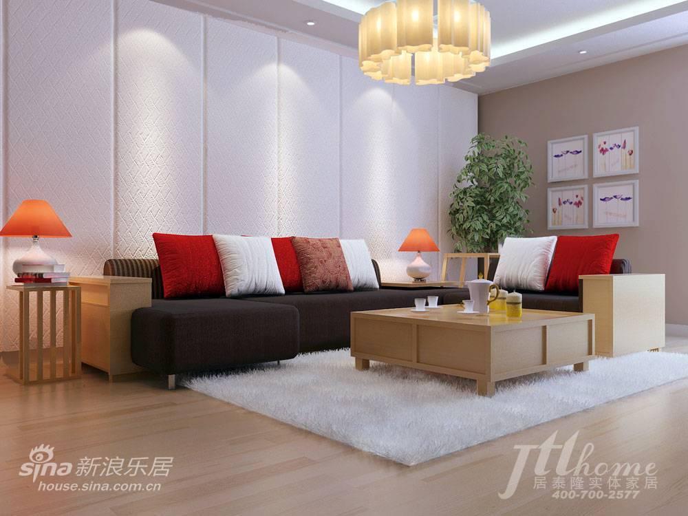 简约 三居 客厅图片来自用户2738093703在130平简约素雅的时尚美家88的分享