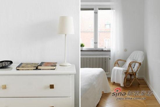 北欧 二居 卧室图片来自佰辰生活装饰在简约明亮96平米小清新公寓71的分享
