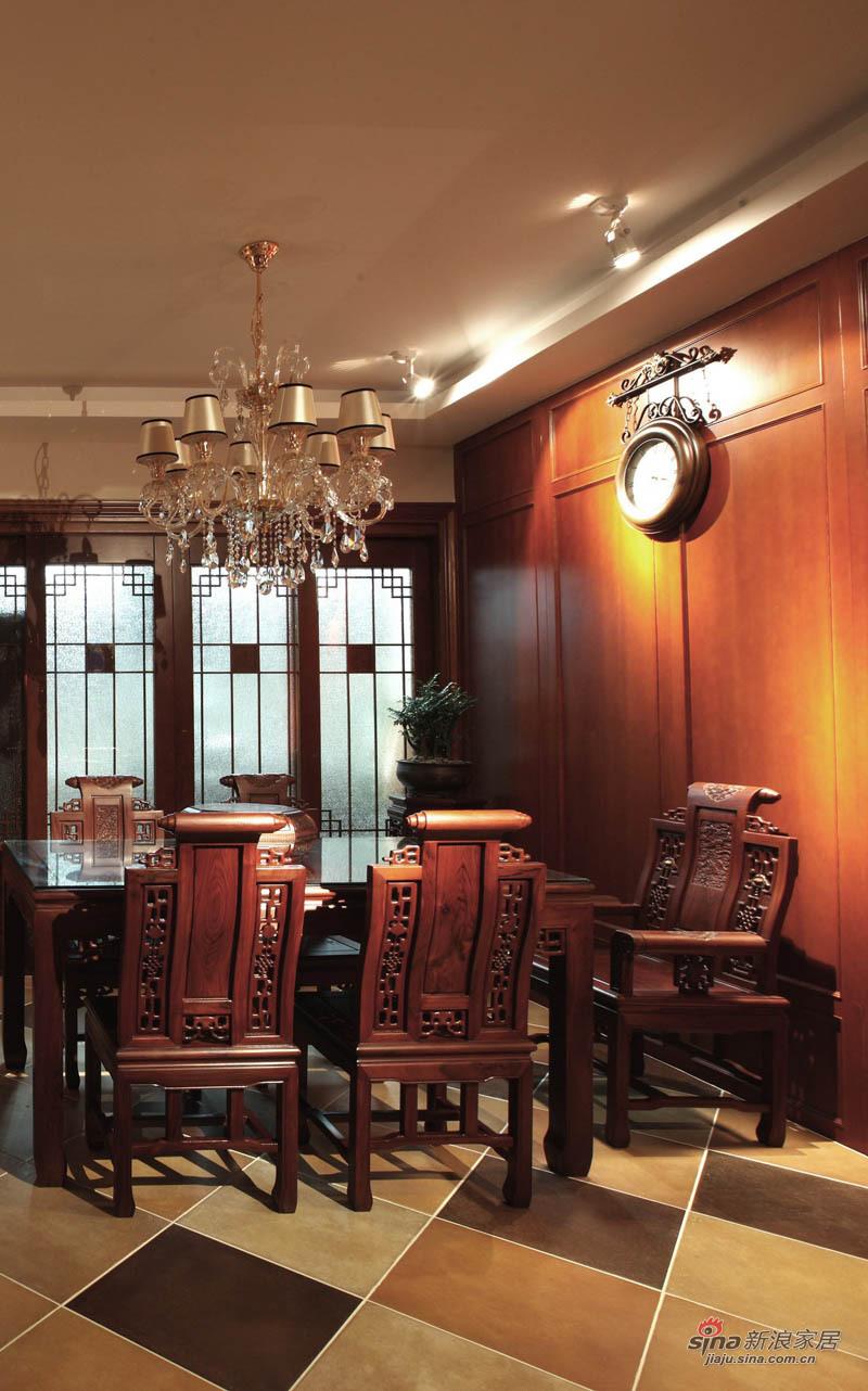 新古典 三居 餐厅图片来自用户1907701233在220平简约中式高雅三居 传统文化的捕捉88的分享