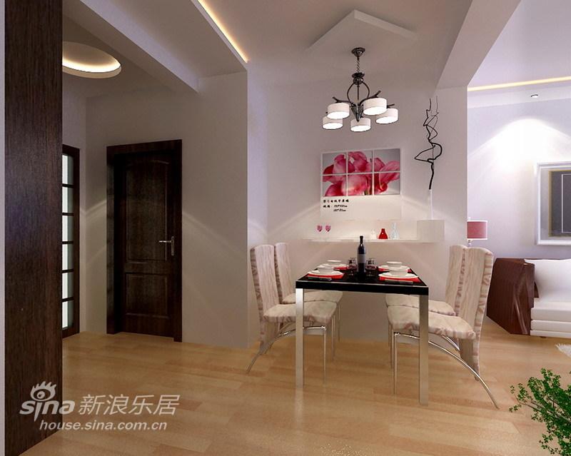 简约 一居 餐厅图片来自用户2738820801在80平明亮清爽充满朝气的两居室47的分享