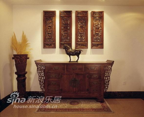 中式 别墅 玄关图片来自用户2757926655在环湖庄园50的分享