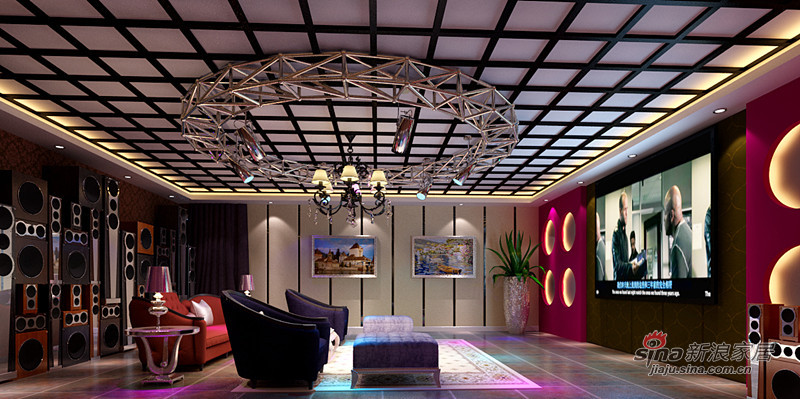 欧式 四居 客厅图片来自用户2772873991在低调的小奢华打造保利心语四居室欧式风格48的分享