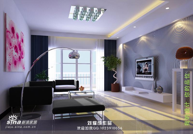 简约 三居 客厅图片来自用户2737759857在灰色时尚空间26的分享