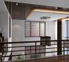 二楼楼梯及装饰