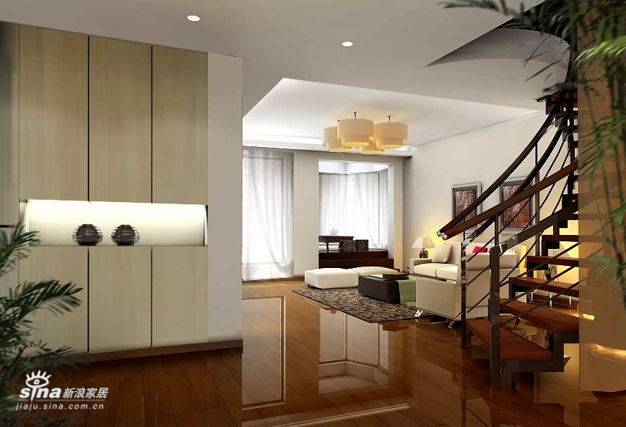 简约 四居 客厅图片来自用户2739153147在帝景一套69的分享