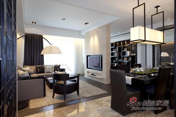简约 四居 客厅图片来自用户2738845145在超赞!老公打造183平米的功能性实用家居60的分享