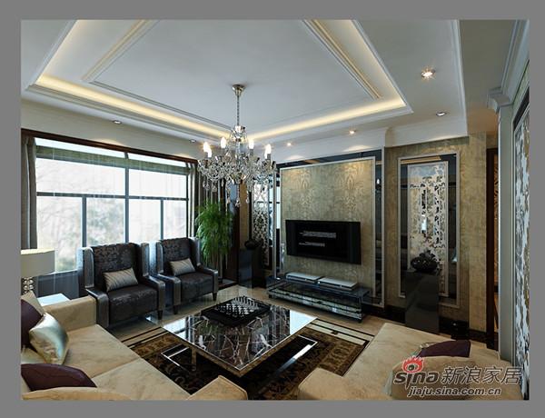 中式 三居 客厅图片来自用户1907662981在如何打造古典低调奢华的大三居?61的分享