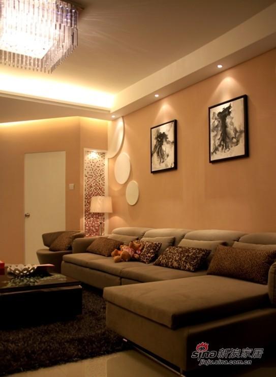 简约 二居 客厅图片来自用户2737759857在16张实景图揭密幸福之家36的分享