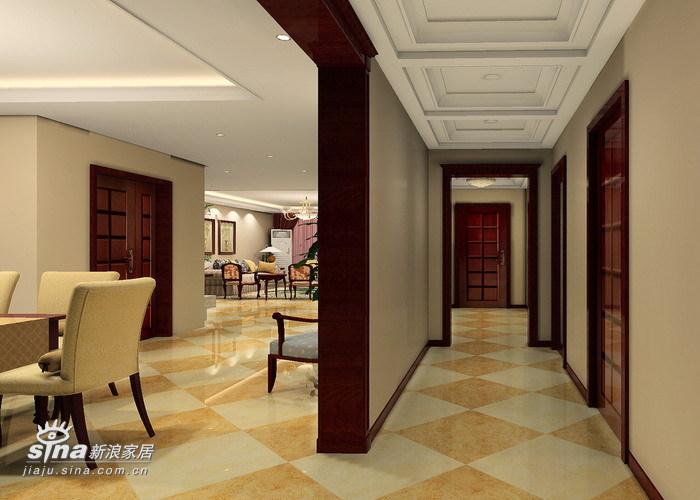 欧式 三居 玄关图片来自用户2746953981在颐清家园47的分享