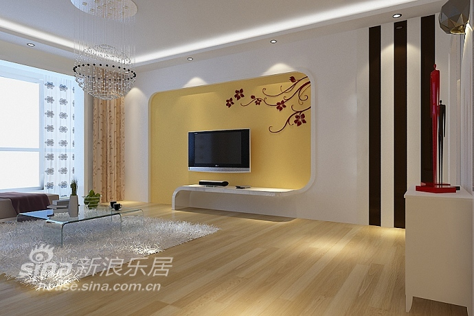 简约 三居 客厅图片来自用户2739153147在简约的舒适美32的分享