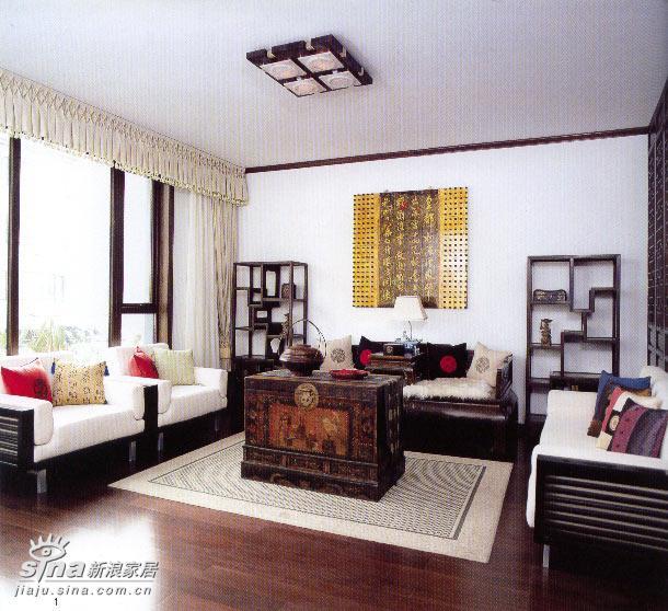 中式 跃层 客厅图片来自用户2748509701在中式家居58的分享