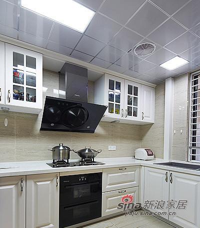 混搭 三居 厨房图片来自装修微日记在【高清】165平后现代古典混搭时尚3居室17的分享