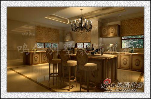 欧式 别墅 厨房图片来自用户2557013183在鸣仁万城华府300平35的分享
