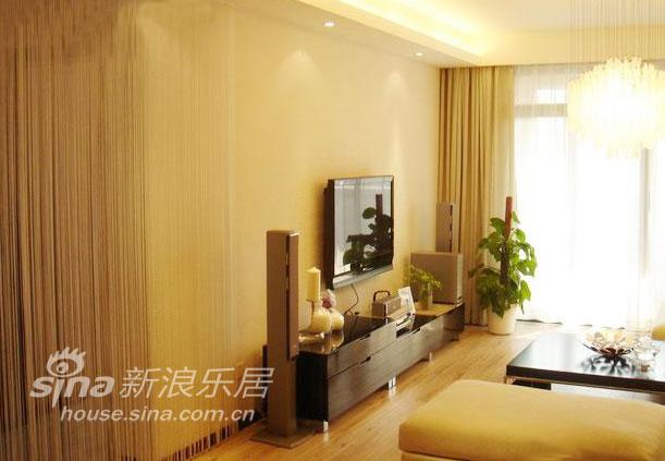 简约 二居 客厅图片来自用户2739081033在用心打造精致两居93的分享