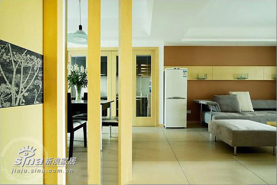 简约 三居 客厅图片来自用户2738820801在超漂亮三居样板间76的分享