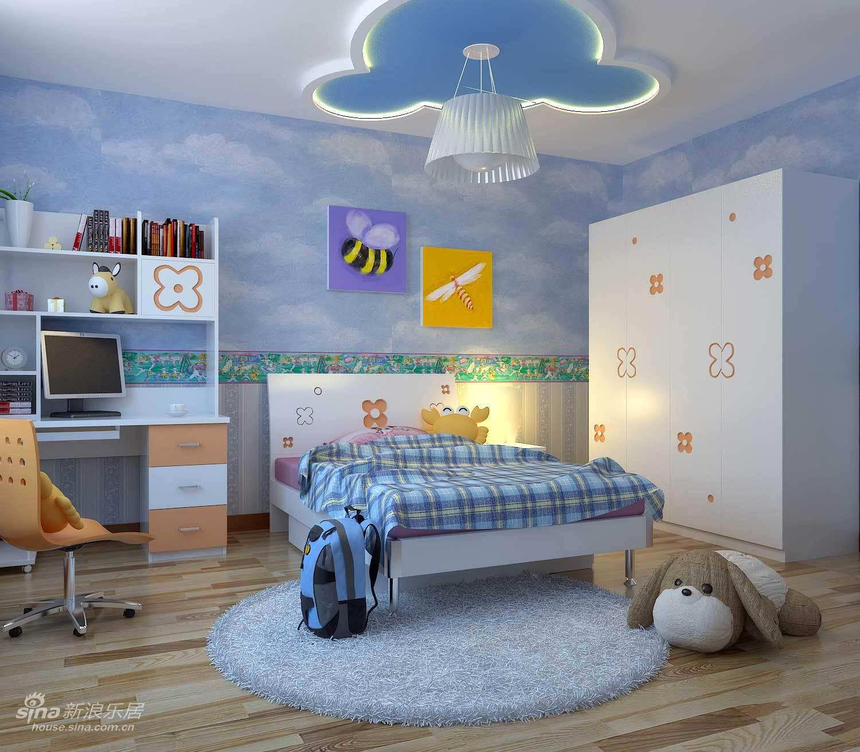 简约 三居 儿童房图片来自用户2739378857在牵手幸福!我那现代简约的婚房设计34的分享
