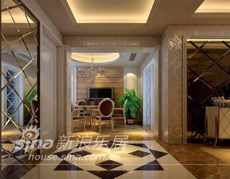 欧式 二居 玄关图片来自用户2757317061在英伦复古风情打造2居室78的分享