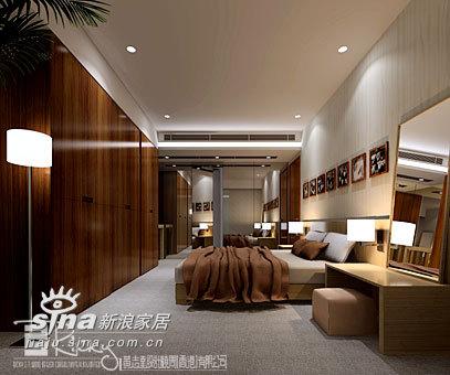 简约 别墅 卧室图片来自用户2739378857在浙江金色海岸示范单位43的分享