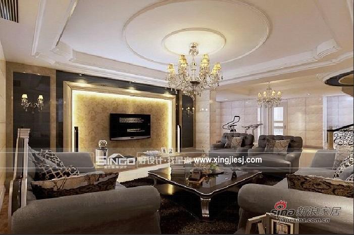 其他 别墅 客厅图片来自用户2558746857在时尚奢华新装饰主义别墅装93的分享