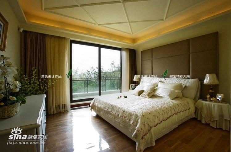 简约 别墅 卧室图片来自用户2738820801在真正的豪宅江南华府(下)99的分享