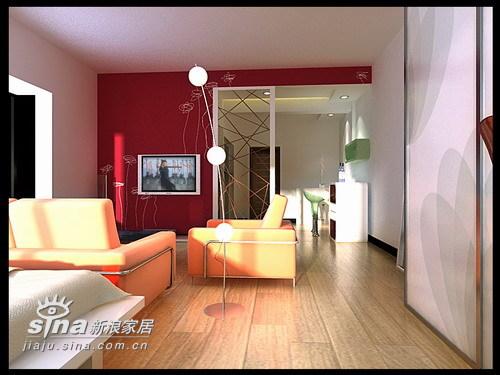 简约 一居 客厅图片来自用户2557010253在水星楼69的分享