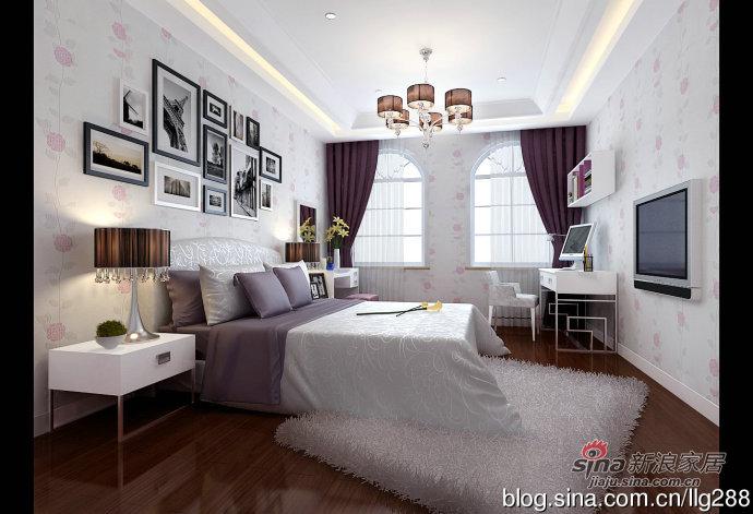 混搭 三居 卧室图片来自用户1907691673在欧式与现代的完美结合168平三居室63的分享