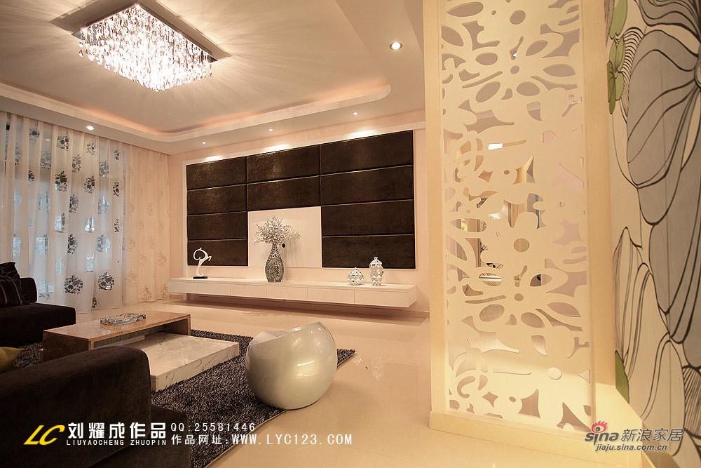简约 四居 客厅图片来自用户2557010253在生如夏花85的分享