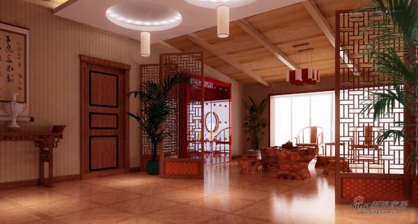 719所三居室设计美式风格